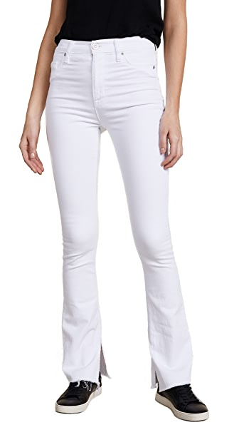 Heartbreaker High Rise Boot Cut Jeans with Slits