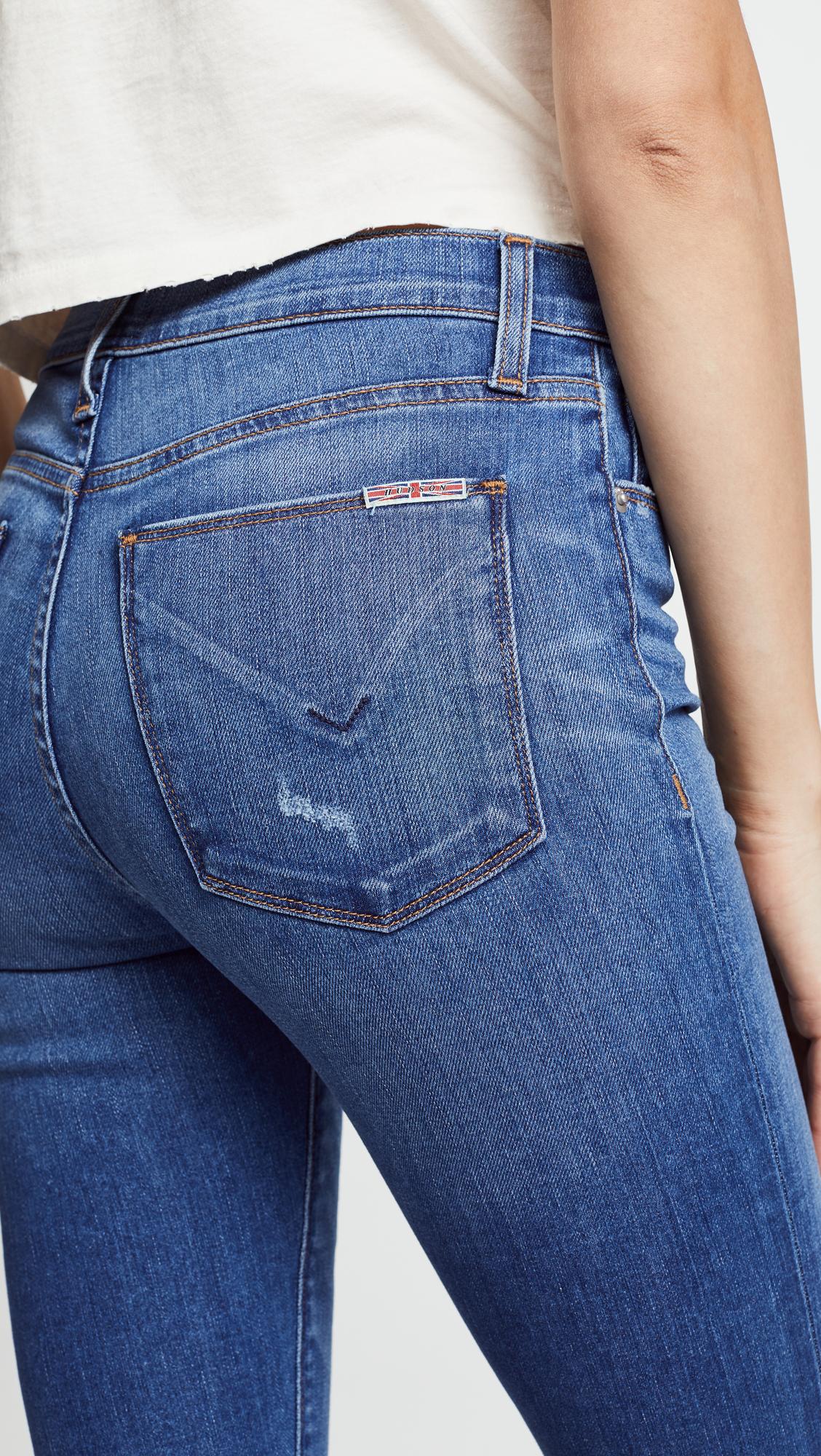 9432ff6b542 Hudson Barbara High Waist Super Skinny Jeans   SHOPBOP