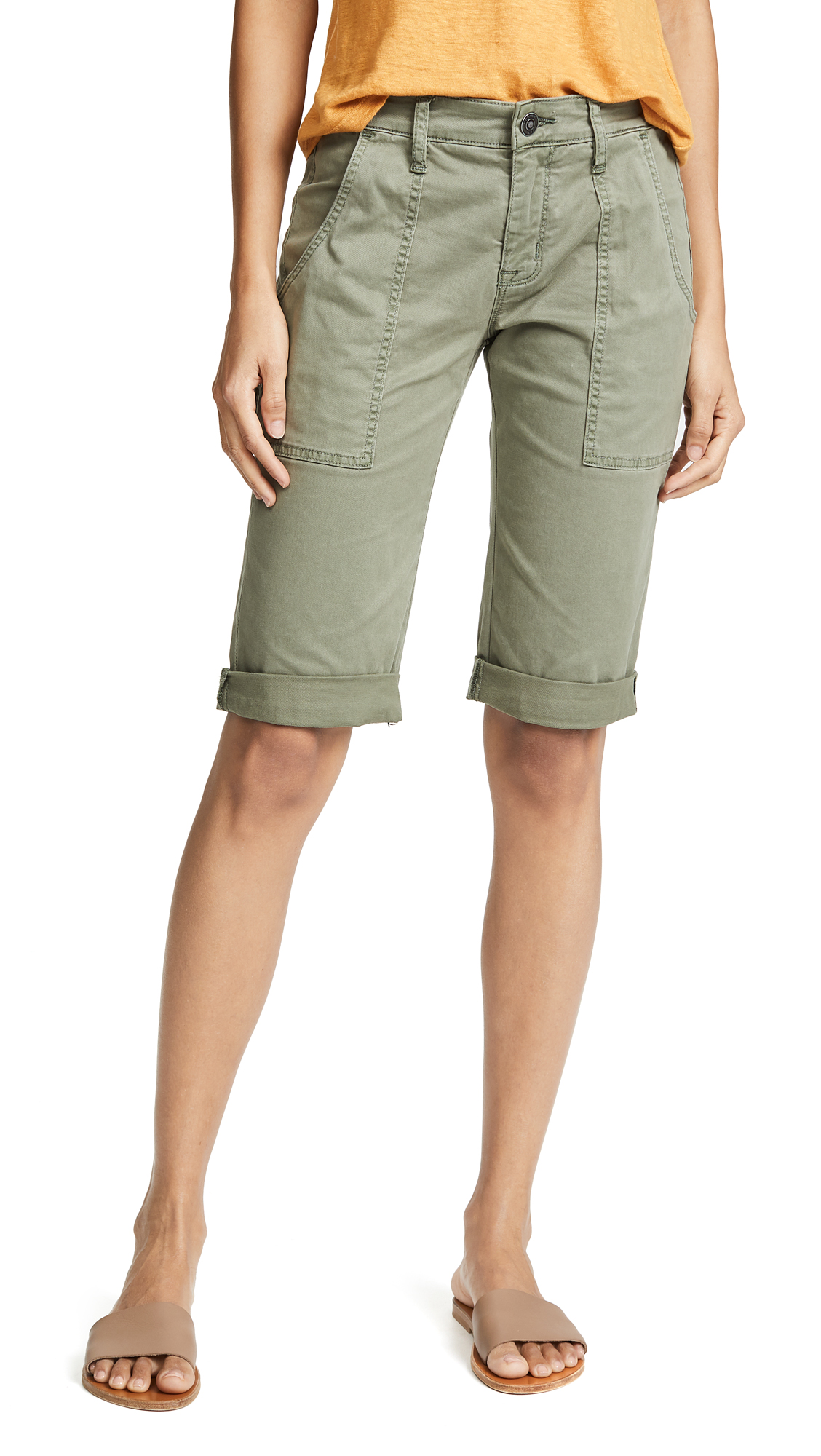 Hudson The Leverage Cargo Shorts In Forester