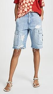 Hudson Jane Relaxed Cargo Shorts