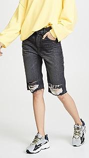 Hudson Длинные обрезанные шорты Sloane