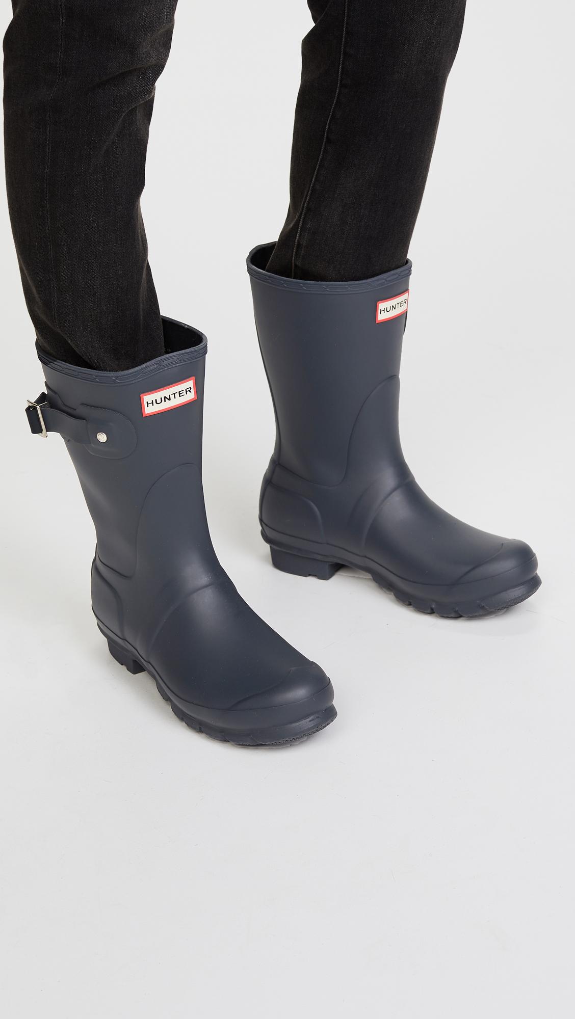 eff099270a8b6 Hunter Boots Original Short Boots   SHOPBOP