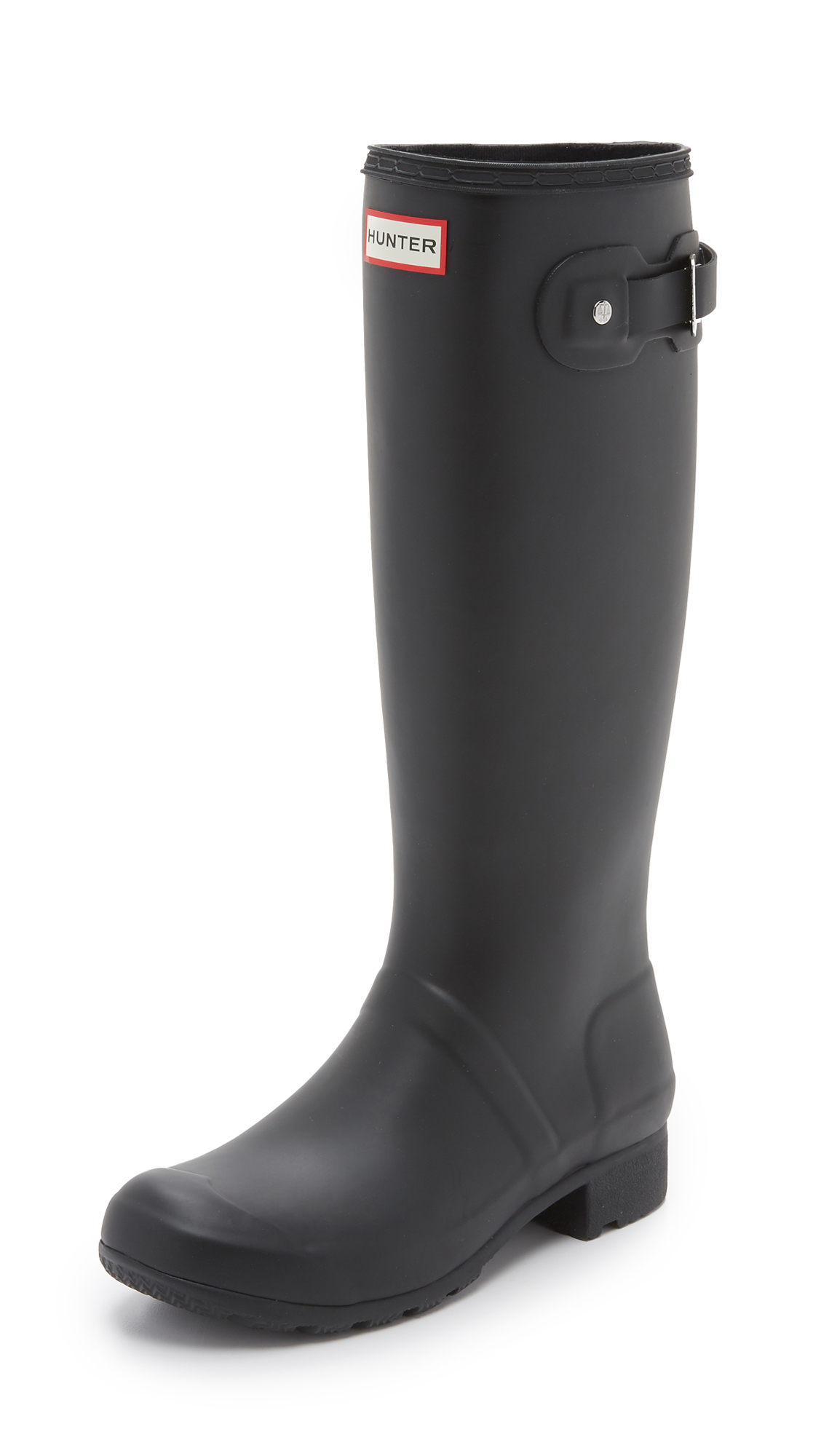 Hunter Boots Original Tour Boots - Black at Shopbop