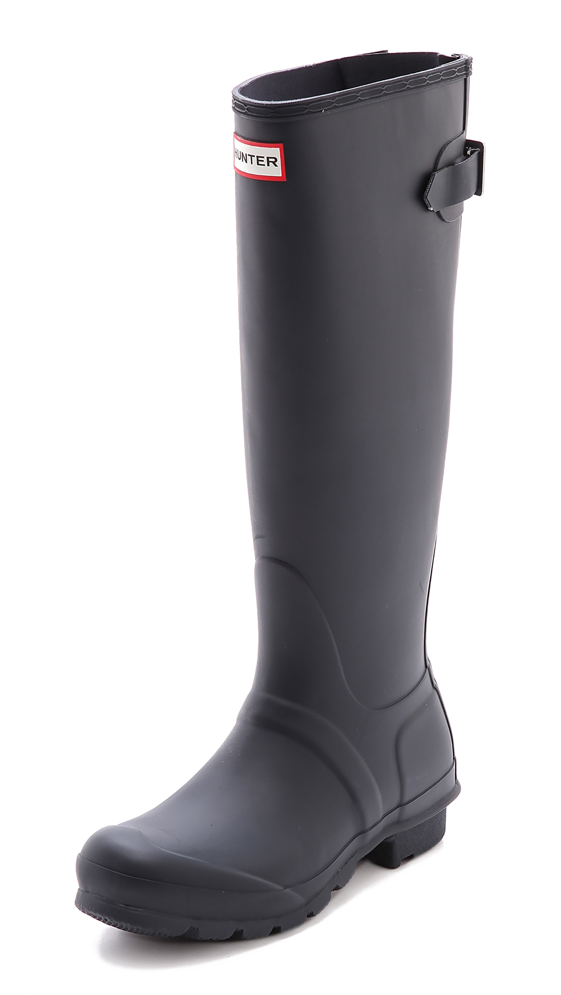 Hunter Boots Original Back Adjustable Boots - Navy