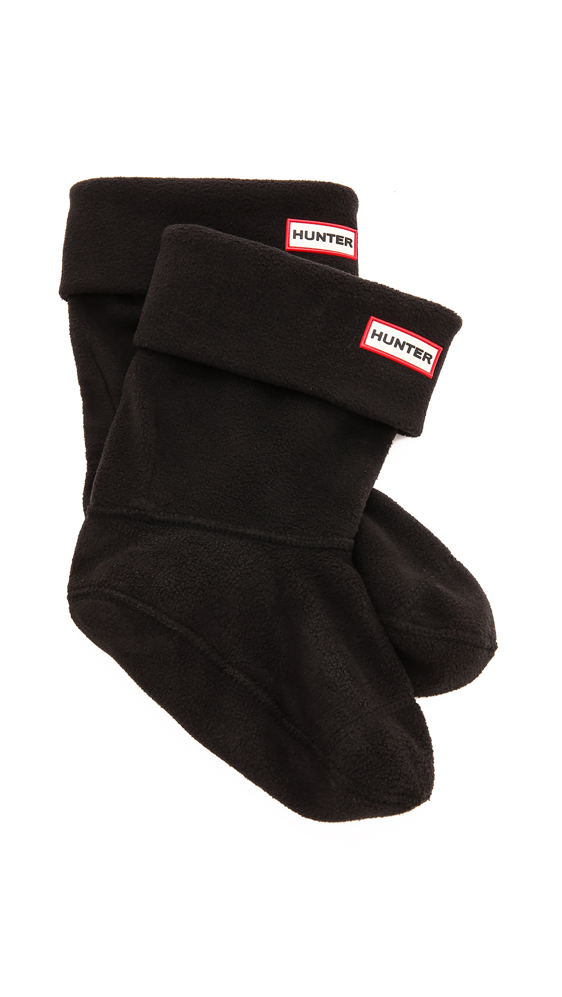 Hunter Boots Short Boot Socks - Black