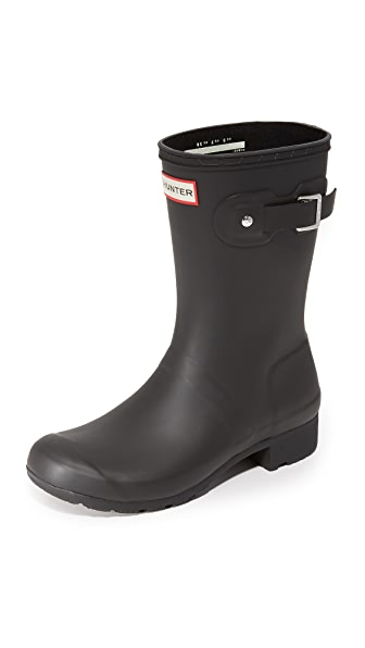 Hunter Boots Original Tour Short Boots - Black at Shopbop