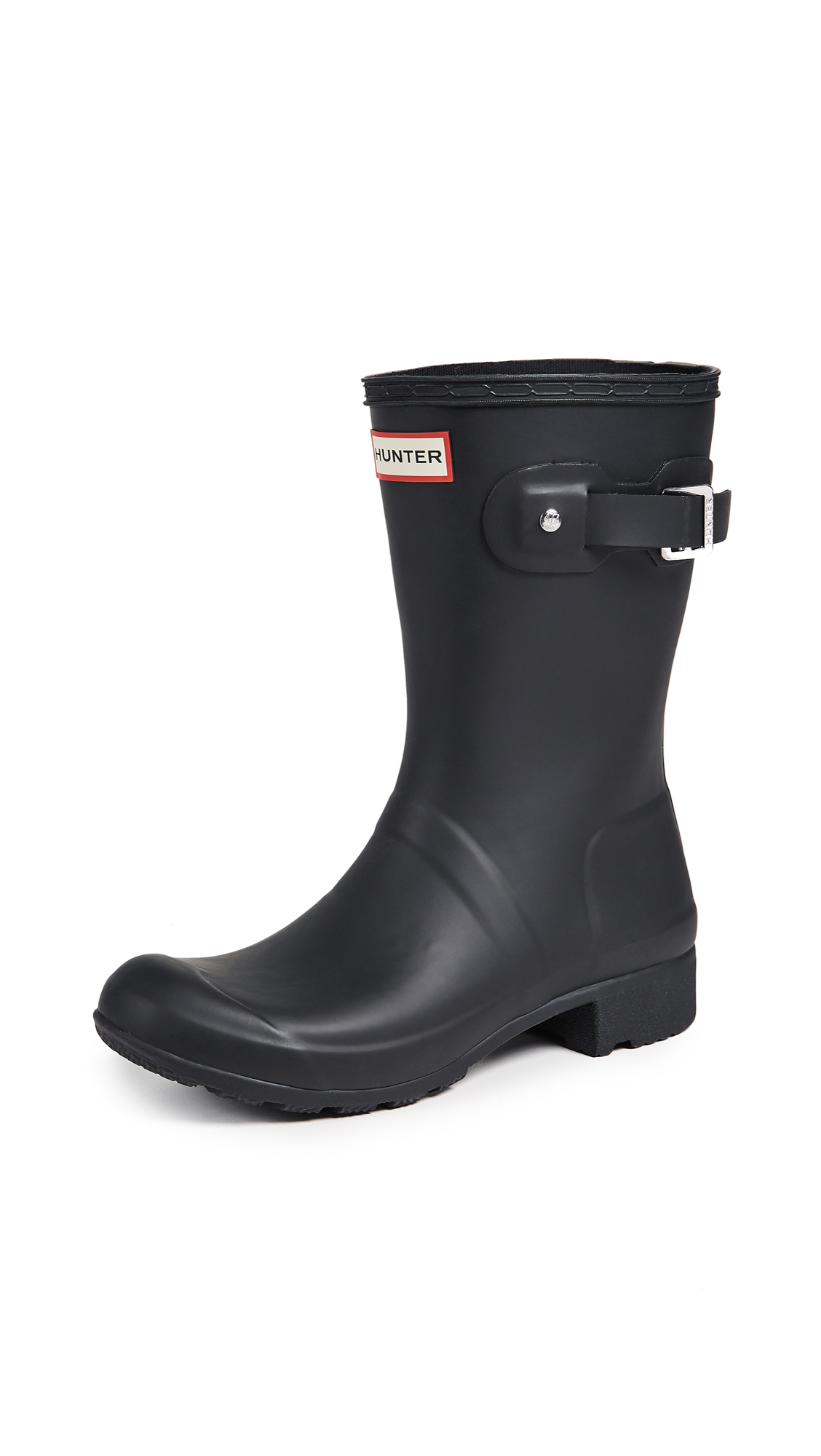 Hunter Boots Original Tour Short Boots - Black