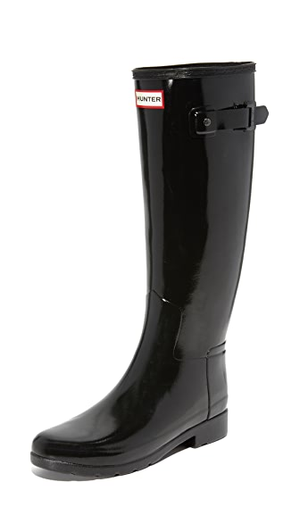 Hunter Boots Original Refined Gloss Boots - Black