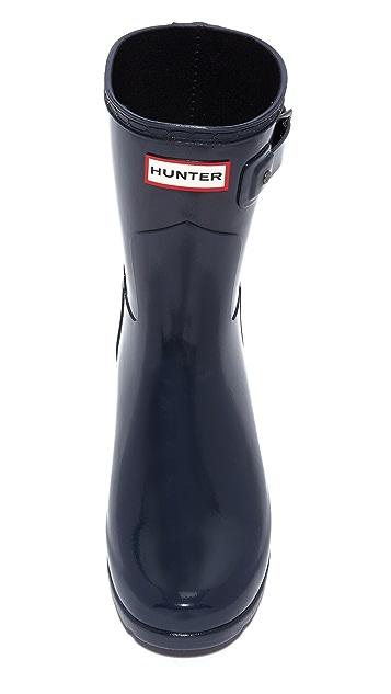 Hunter Boots Original Refined Gloss Short Boots