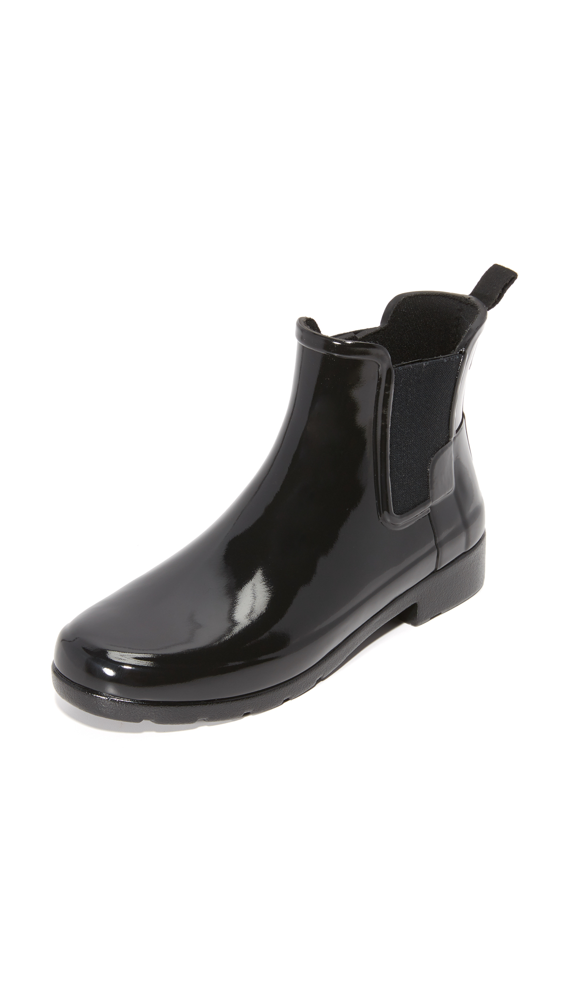 Hunter Boots Original Refined Chelsea Booties - Black at Shopbop