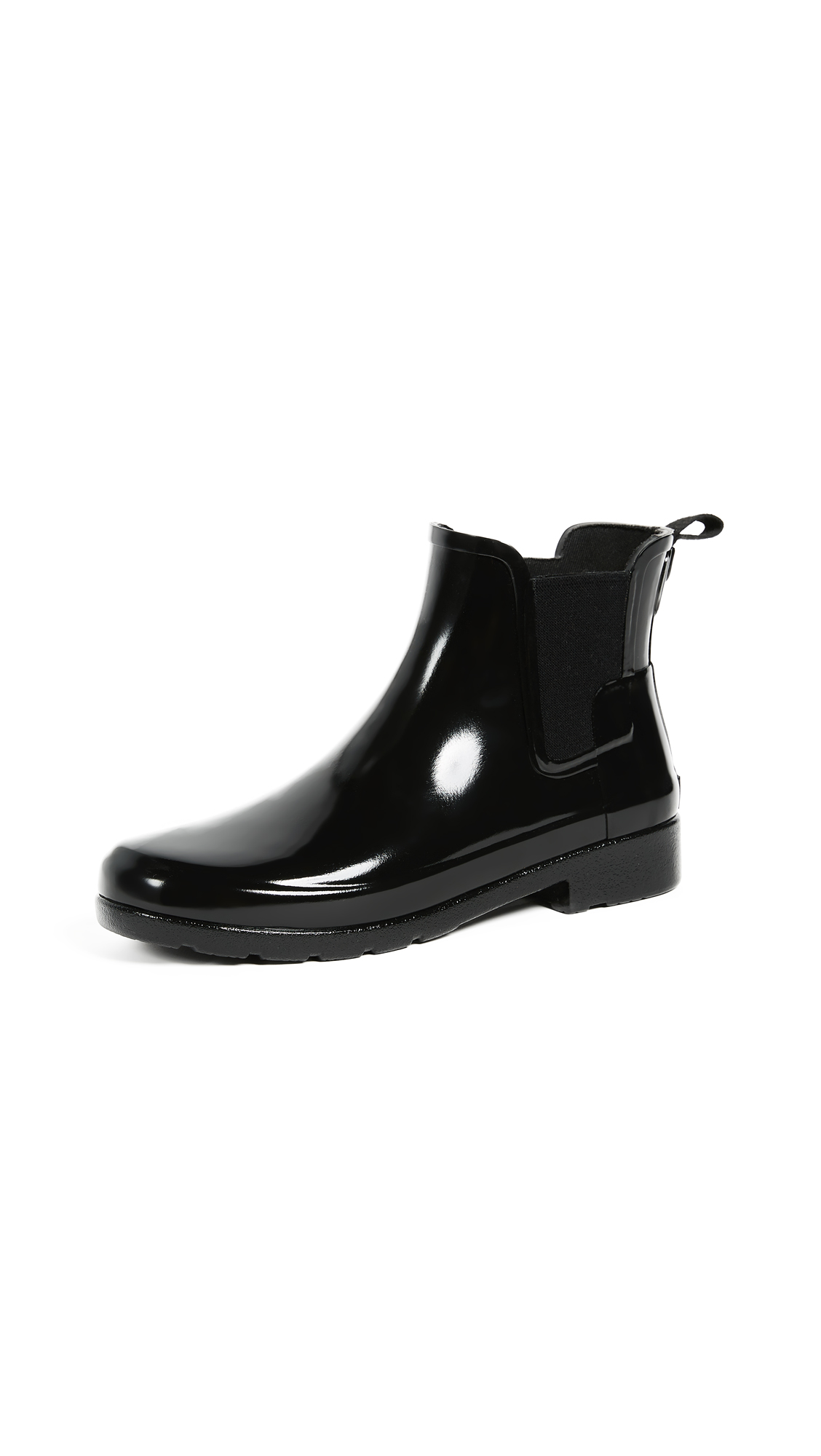 Photo of Hunter Boots Original Refined Chelsea Booties - shop Hunter Boots Booties, Heeled online