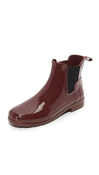 Hunter Boots Original Refined Chelsea Booties - Dulse at Shopbop
