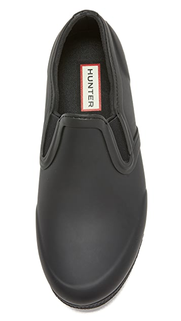 Hunter Boots Original Refined Rubber Slip On Sneakers
