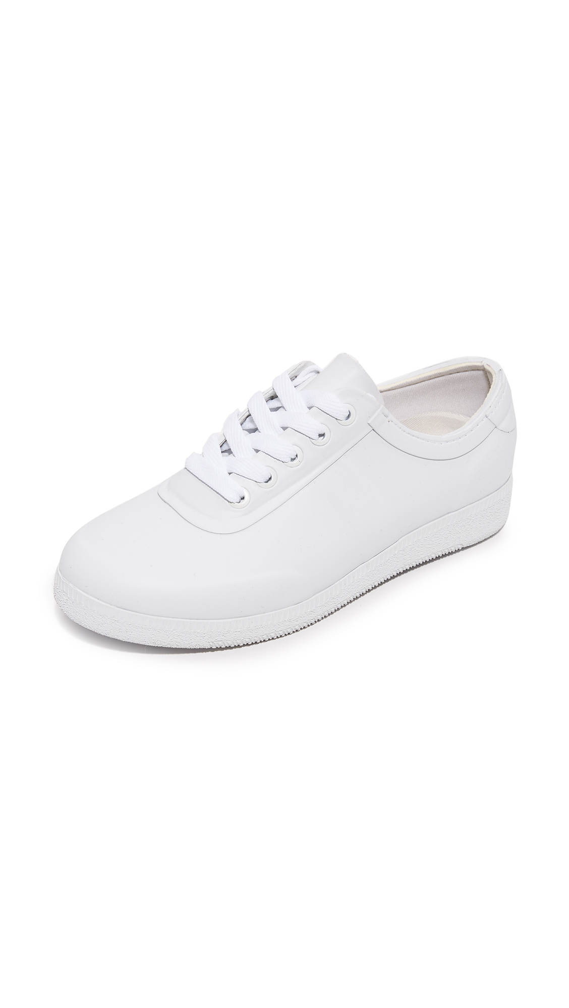 Hunter Boots Original Low Rubber Sneakers - White at Shopbop