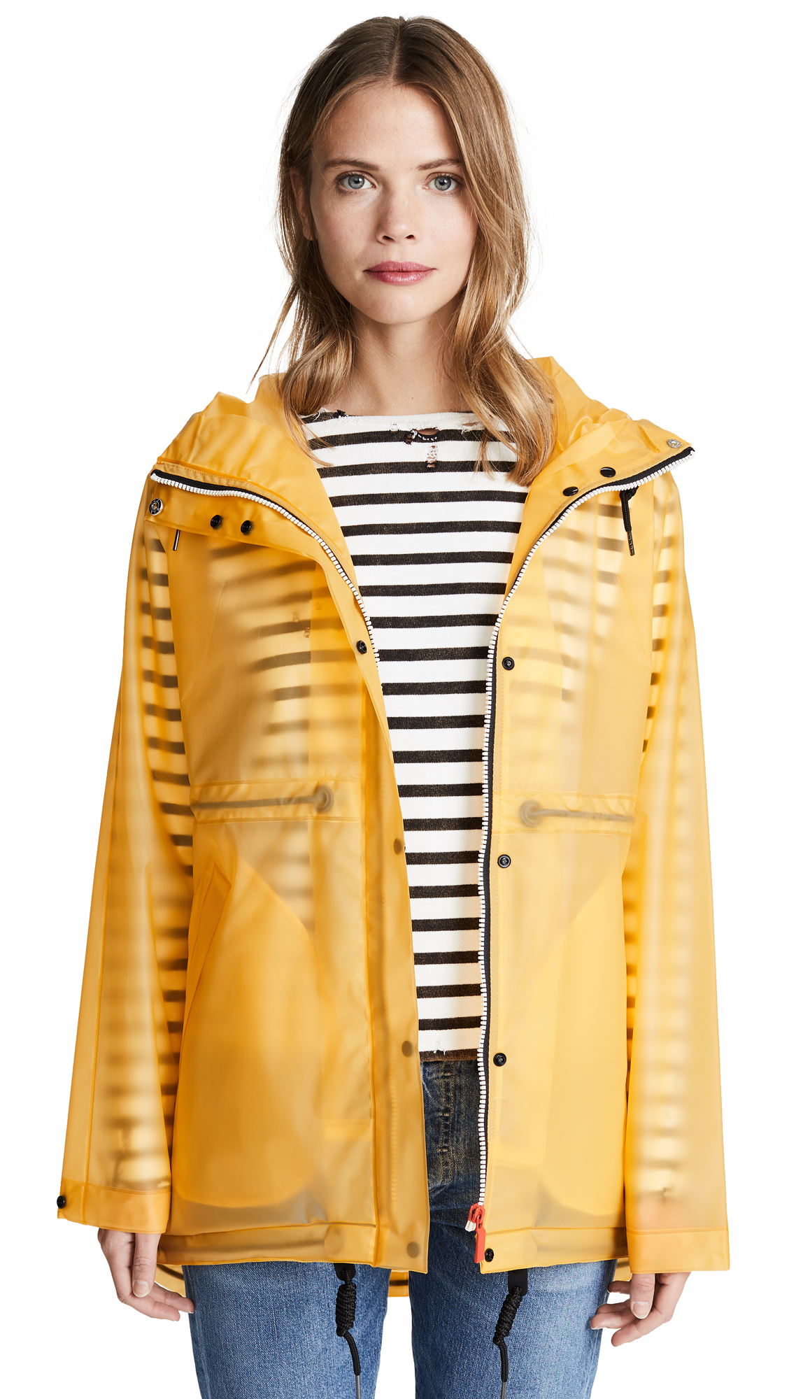 Hunter Boots Original Smock Coat - Yellow