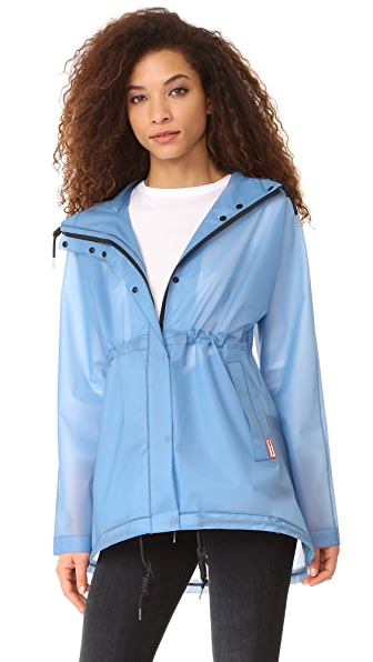 Hunter Boots Original Vinyl Smock Jacket - Pale Blue