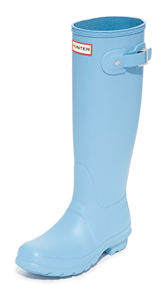 Hunter Boots Original Tall Boots - Pale Blue