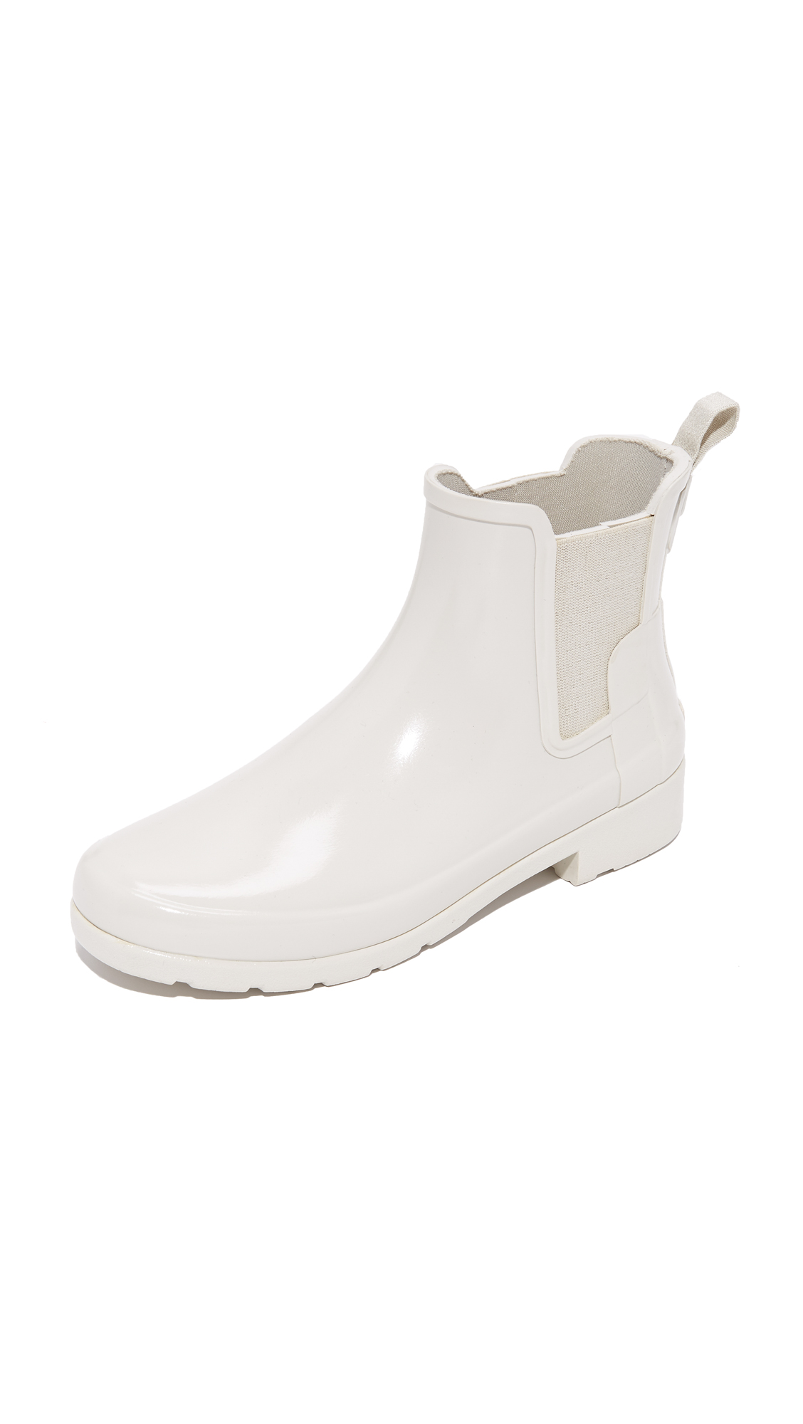 Photo of Hunter Boots Original Refined Chelsea Booties Parchment - Hunter Boots online