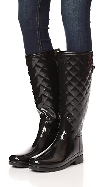 Hunter Boots Refined Quilted Tall Boots