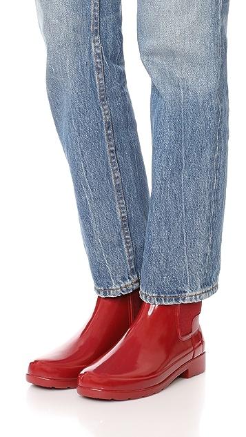 Hunter Boots Original Refined Chelsea Booties
