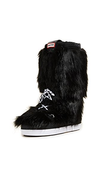 Hunter Boots Original Faux Fur Snow Boots at Shopbop
