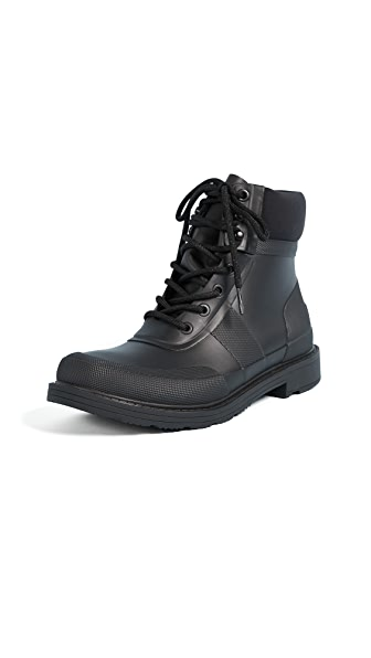 Hunter Boots Original Rubber Commando Boots at Shopbop