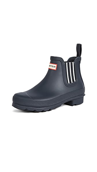 Hunter Boots Original Garden Stripe Chelsea Boots at Shopbop