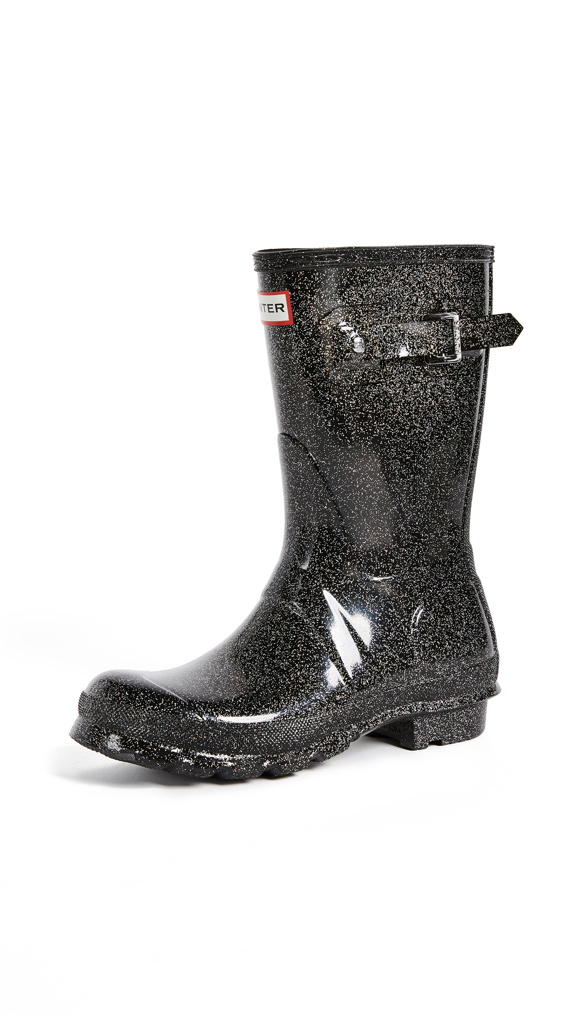 Hunter Boots Original Starcloud Short Boots - Black Multi