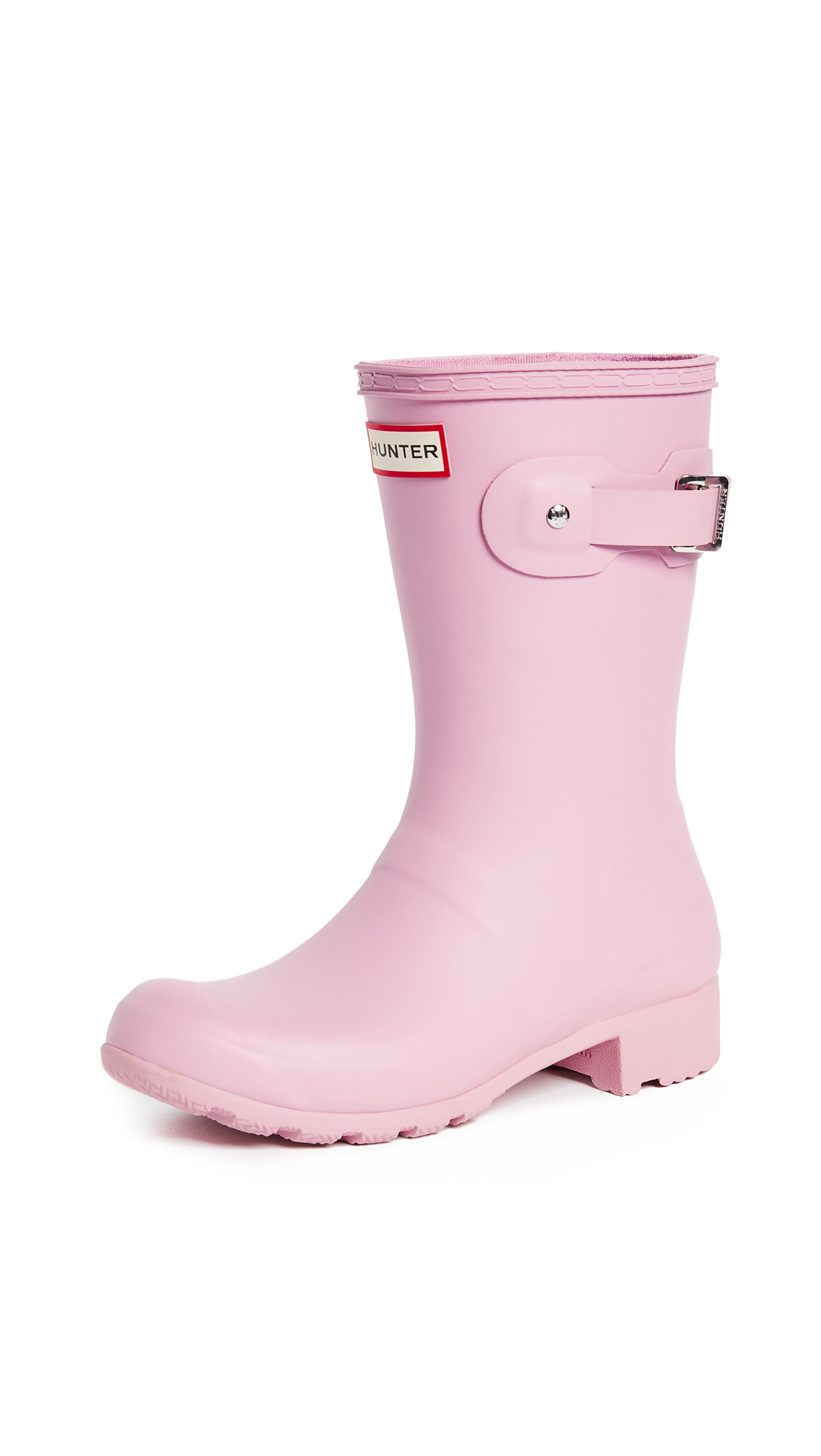 Hunter Boots Original Tour Short Boots - Blossom