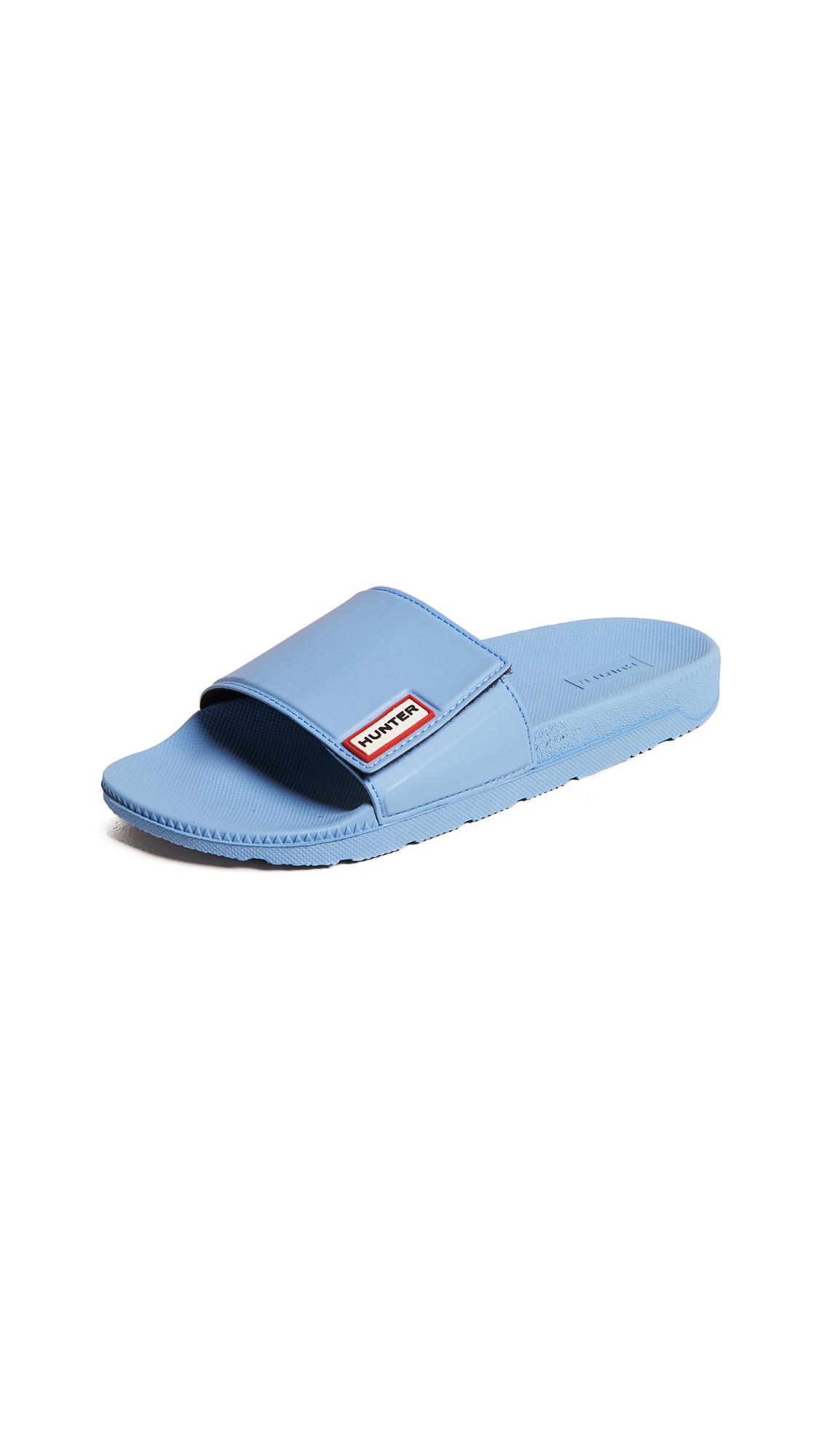 Hunter Boots Original Adjustable Slides - Forget Me Not