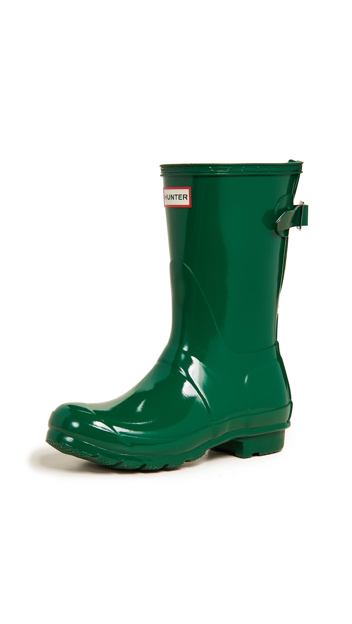 Hunter Boots Original Short Boots - Hyper Green