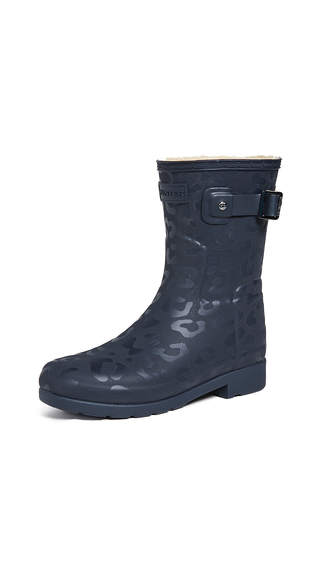 Hunter Boots Refined Insulated Short Boots - Navy