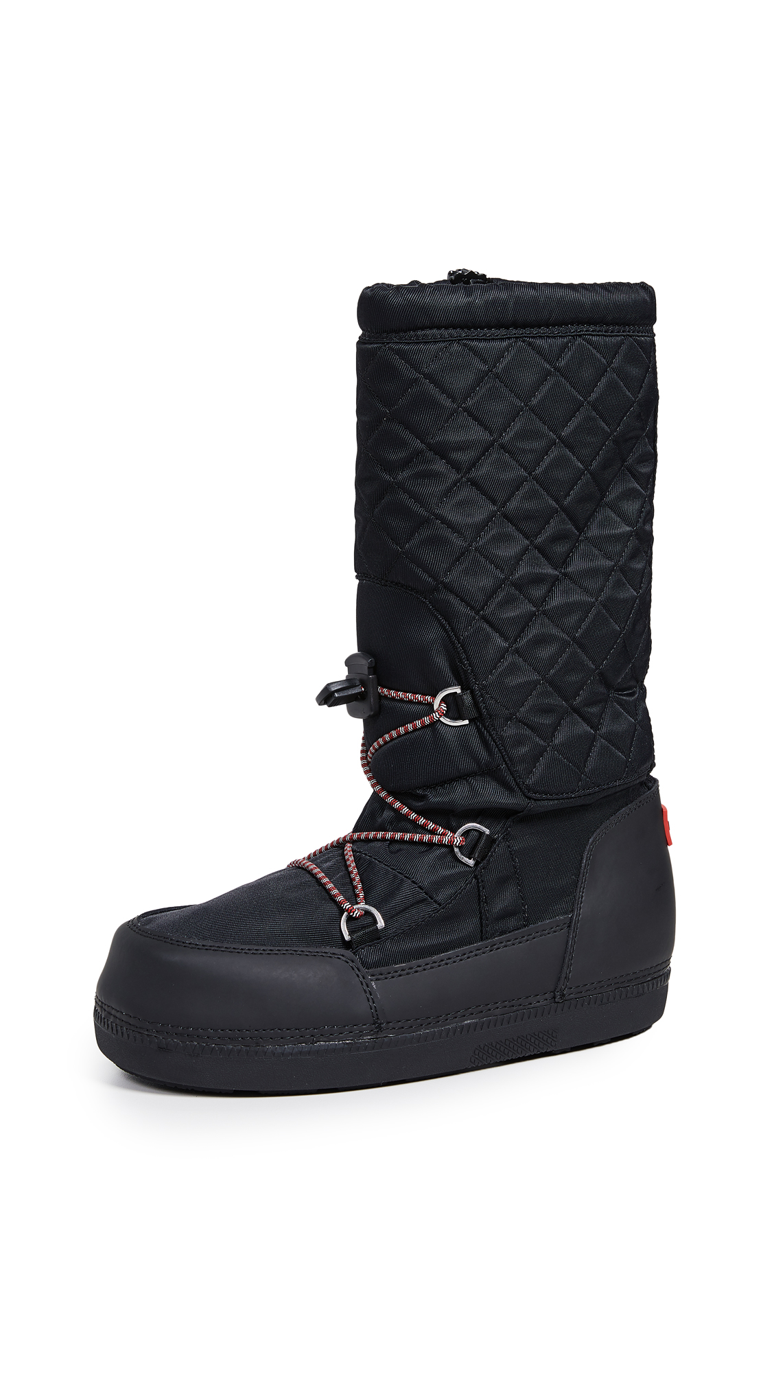 Hunter Boots Original Snow Quilted Boots - Black/Black