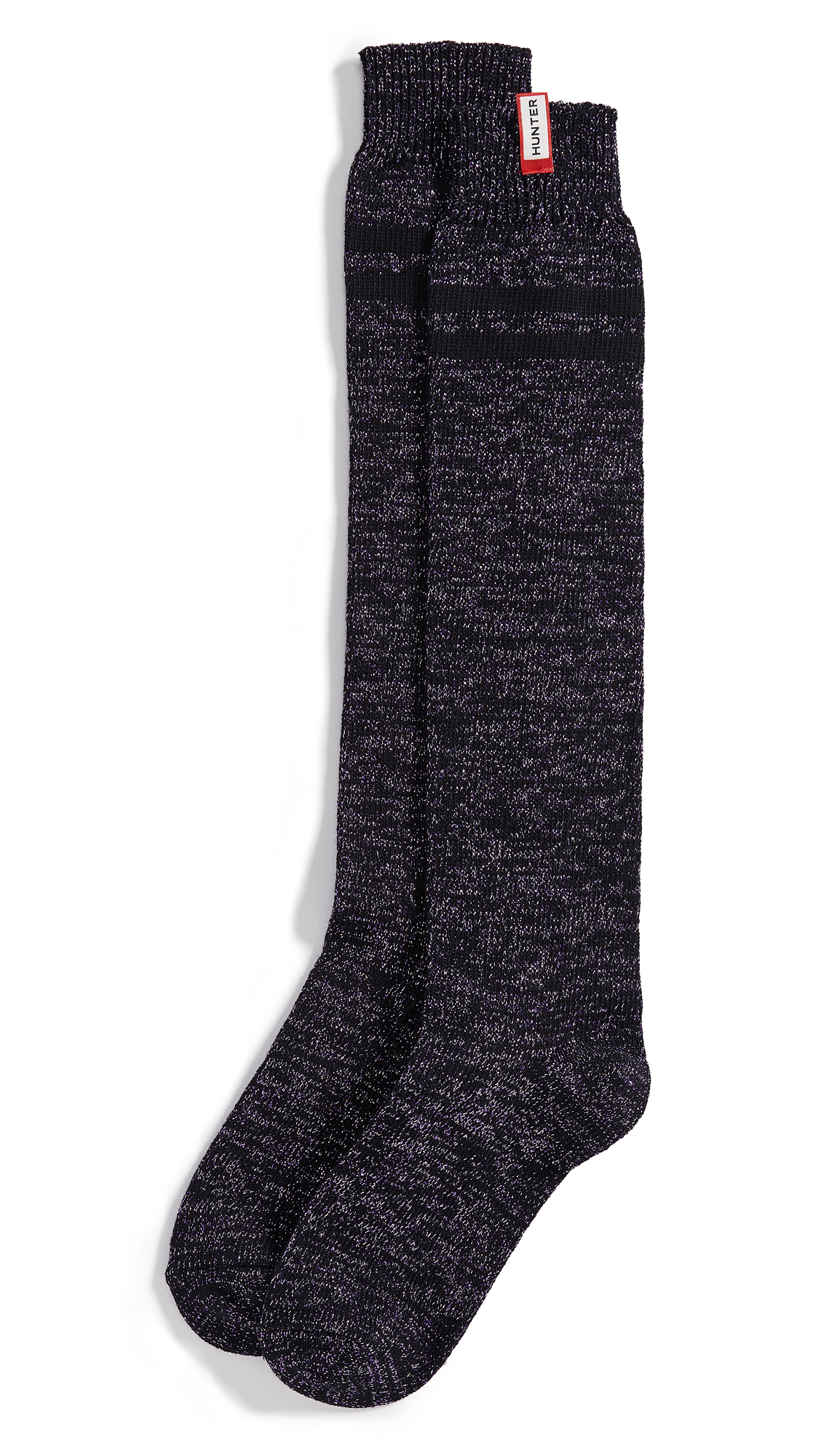 Hunter Boots Knitted Socks - Acid Purple