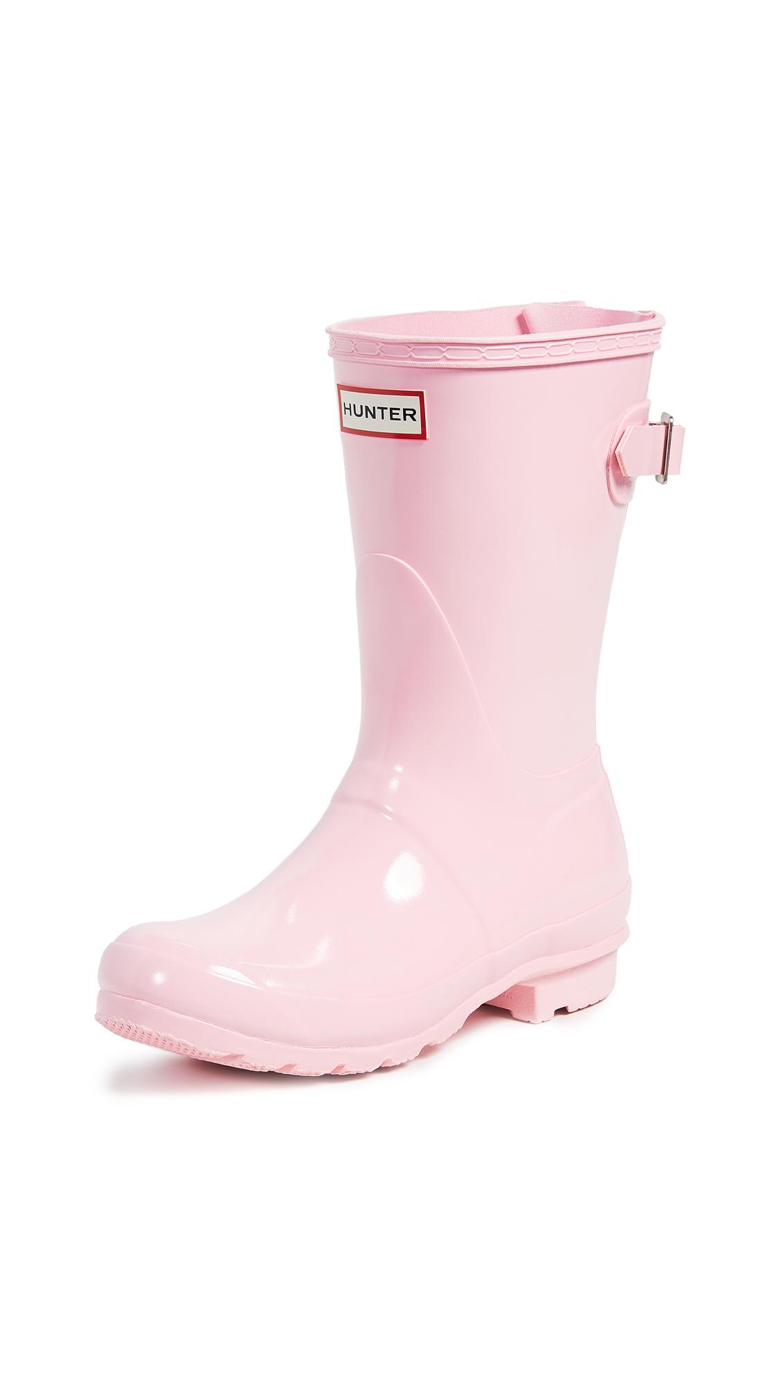 Hunter Boots Original Short Back Adjustable Boots - Candy Floss