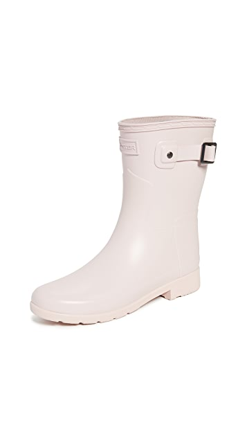 Hunter Boots Refined Short Matte Boots