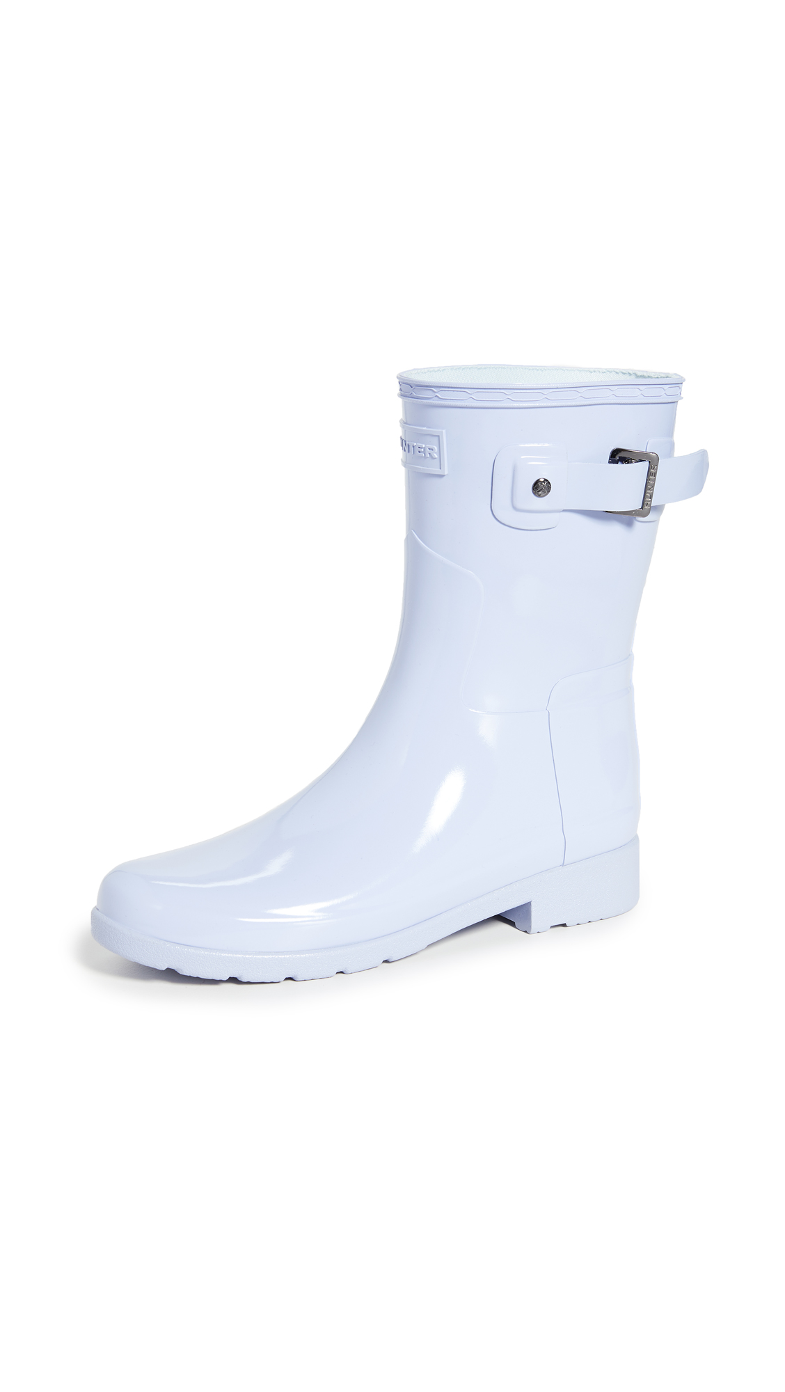 Hunter Boots Original Refined Short Gloss Boots - 50% Off Sale