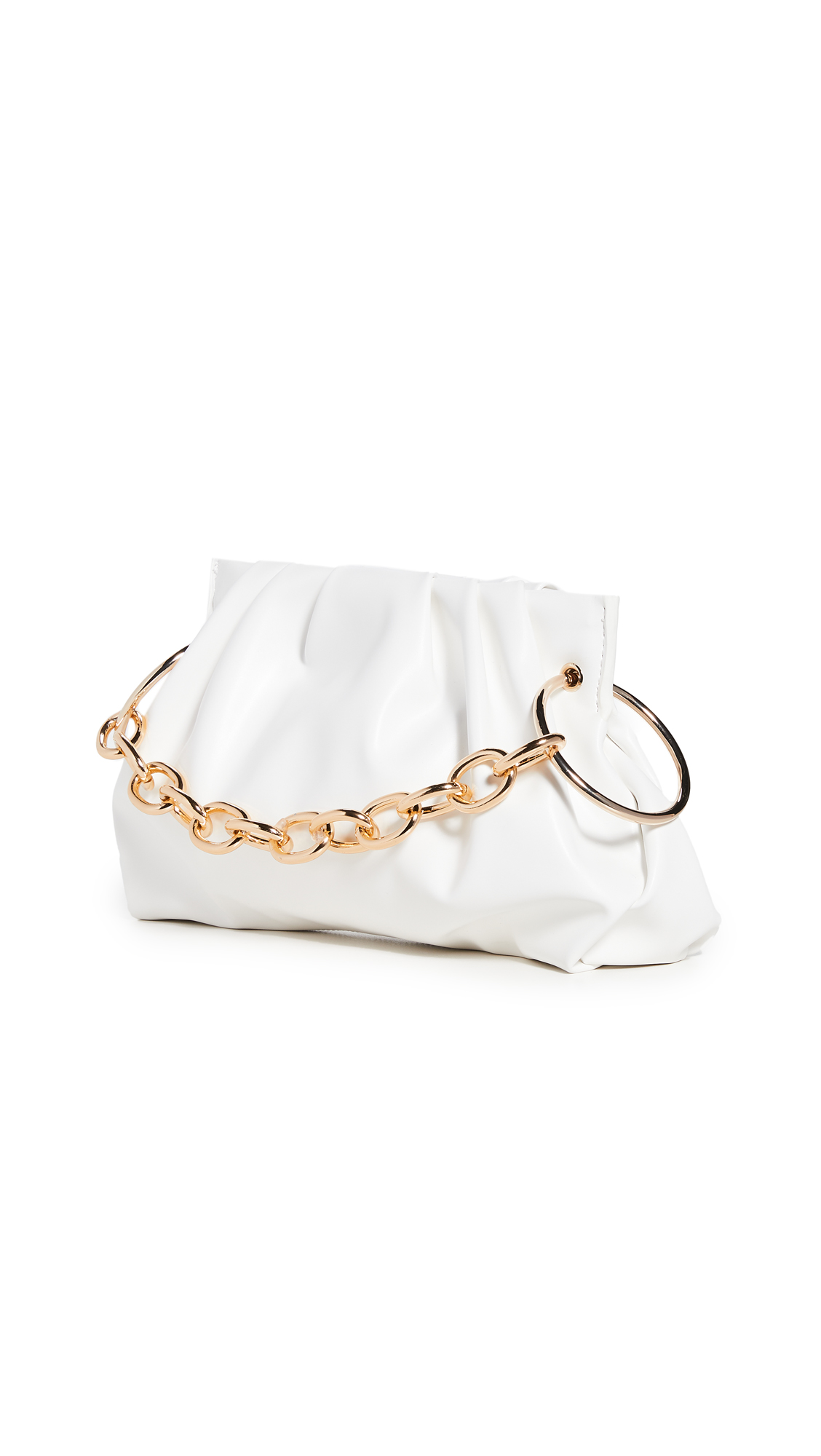 House Of Want Chill Framed Clutch In White