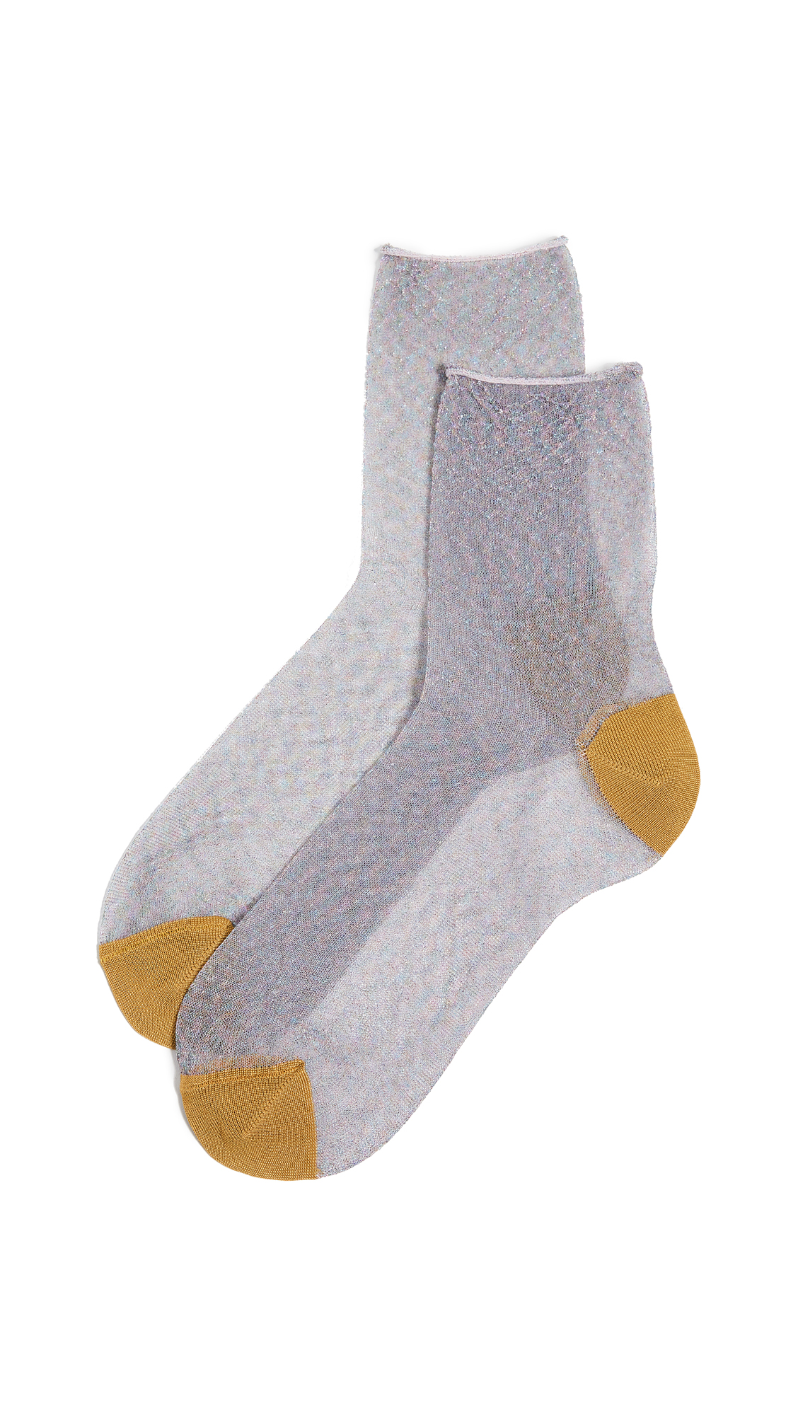 HYSTERIA Emma Ankle Socks in Clear