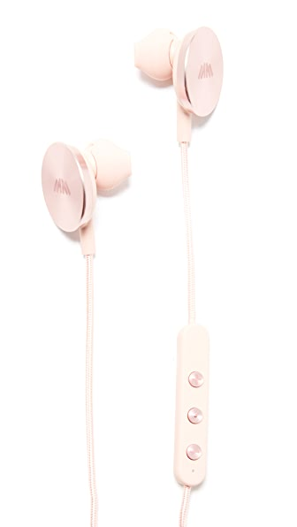 i.am+ Buttons Wireless Headphones In Rose