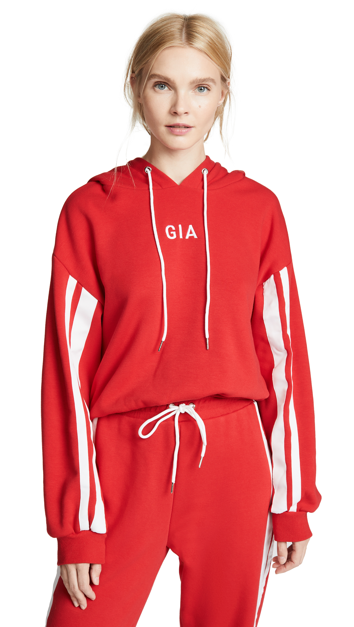 I.AM. GIA Striker Hoodie In Red