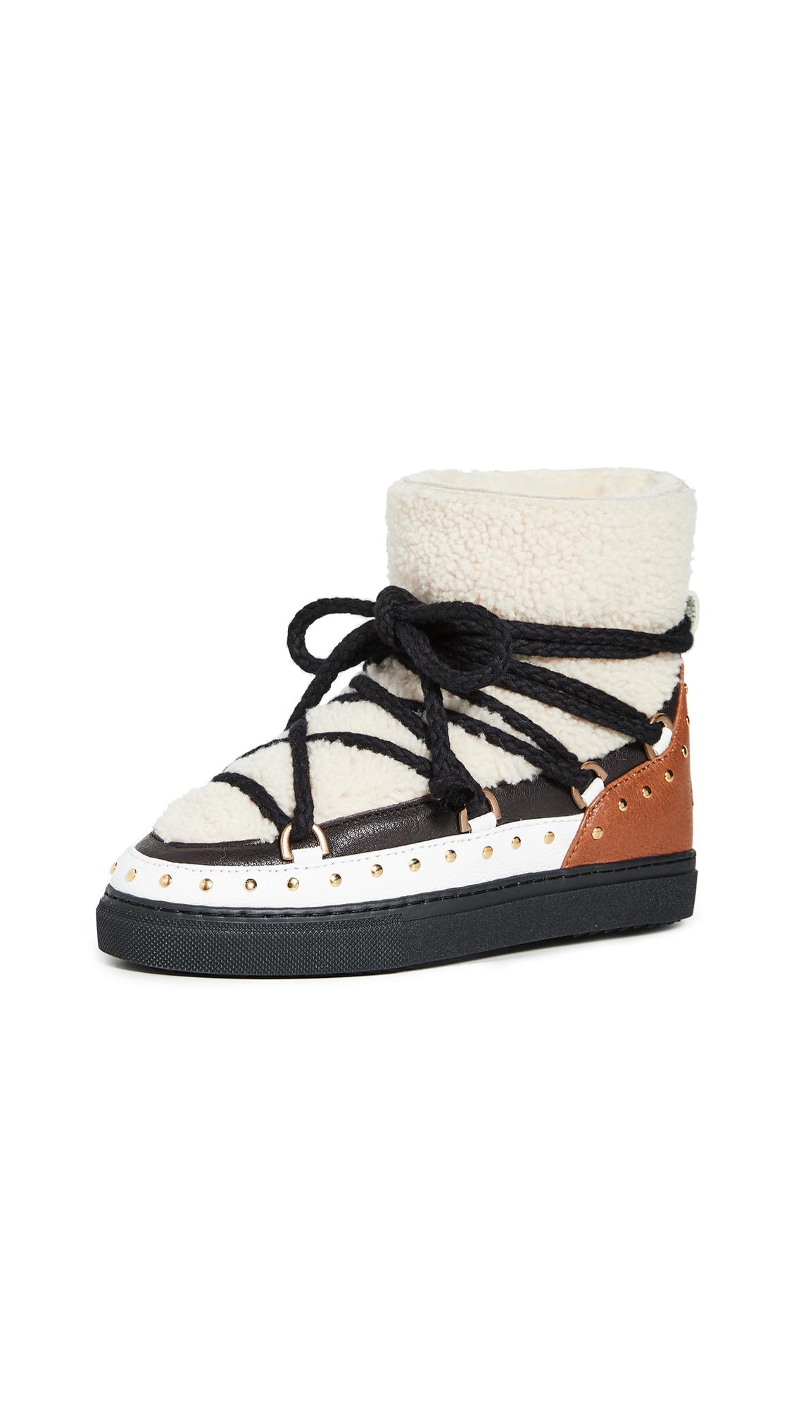 Buy Inuikii Curly Rock Shearling Sneakers online, shop Inuikii
