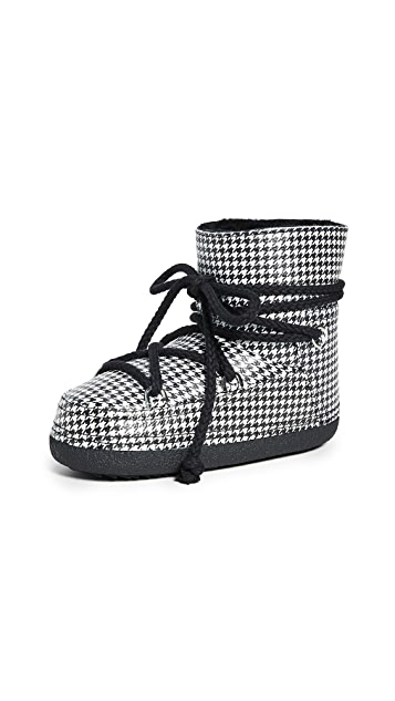 Inuikii Dog Tooth Shearling Boots