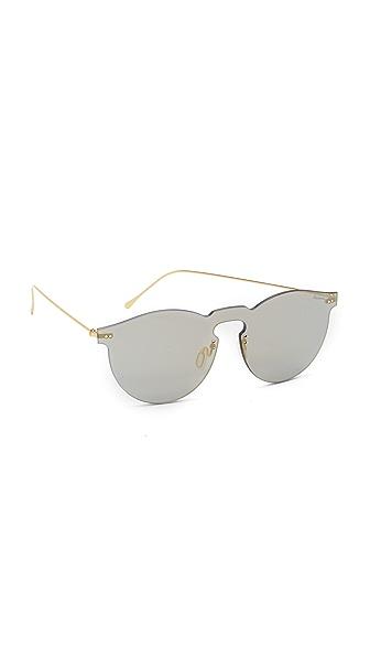 Illesteva Leonard Mirrored Mask Sunglasses