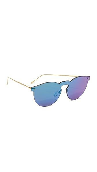 Illesteva Leonard Mask Sunglasses at Shopbop