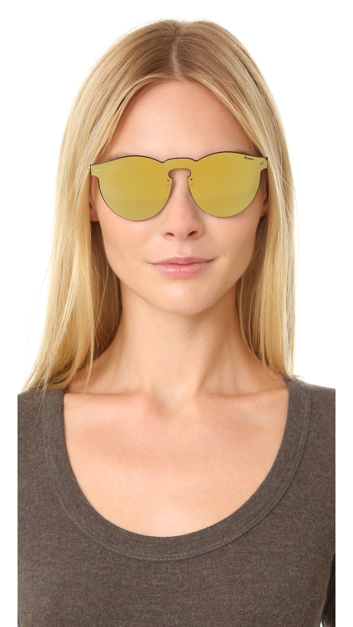 a57112a83d Illesteva Leonard Mask Sunglasses