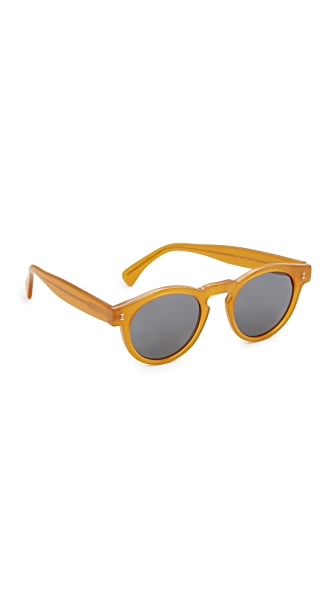 Illesteva Leonard Sunglasses In Honey/Grey