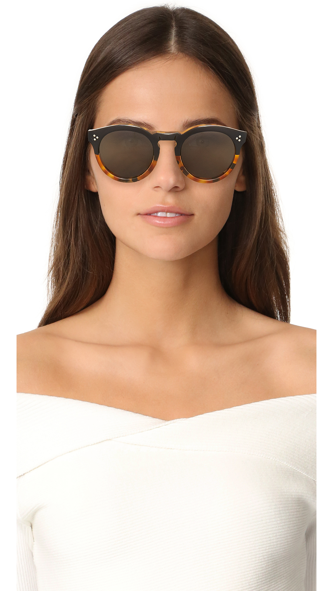 be9204fb0030 Illesteva Leonard II Sunglasses | SHOPBOP