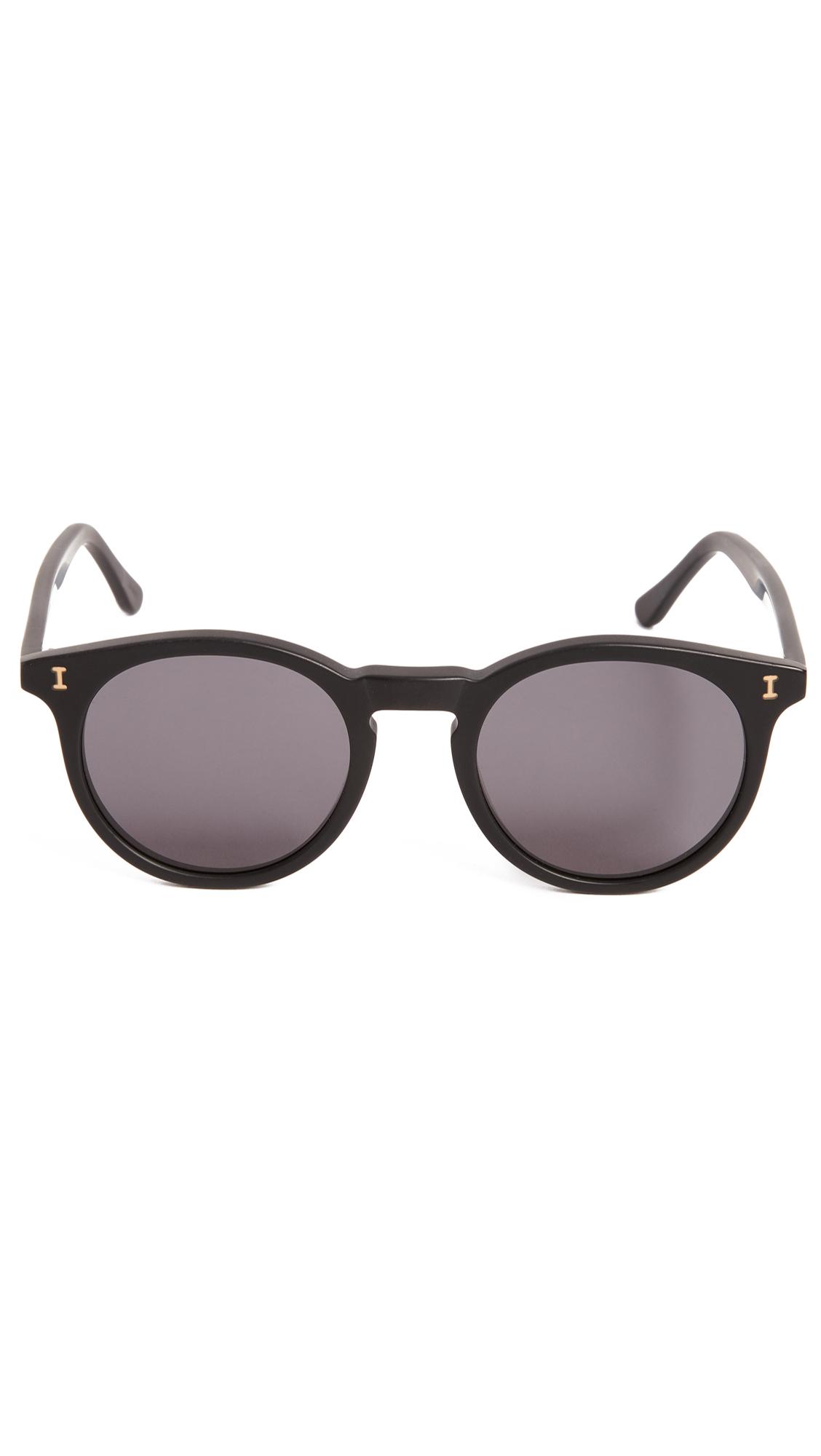 055a25a3c5 Illesteva Sterling Matte Black Sunglasses