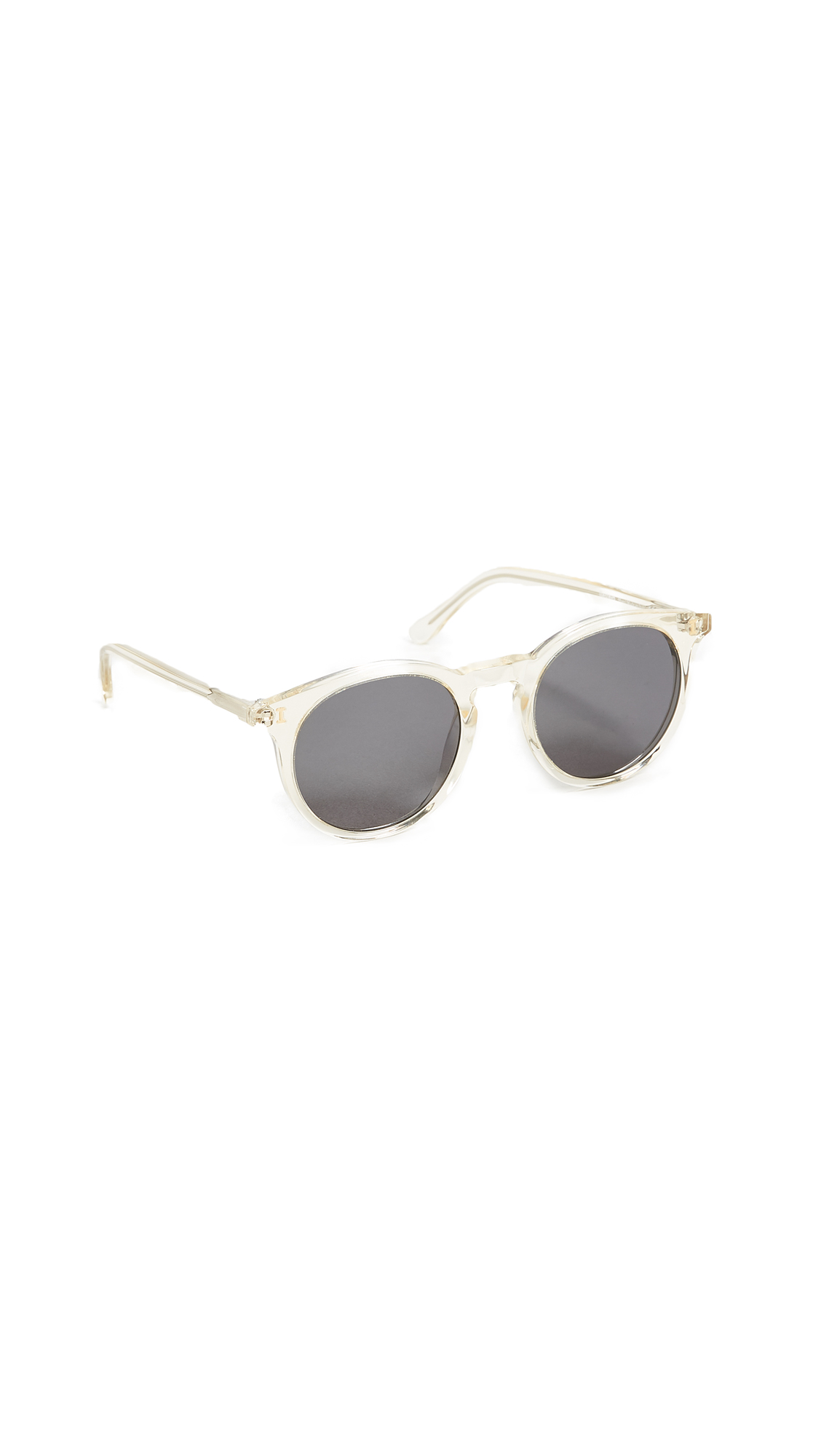 Illesteva Sterling Sunglasses In Champagne/Grey